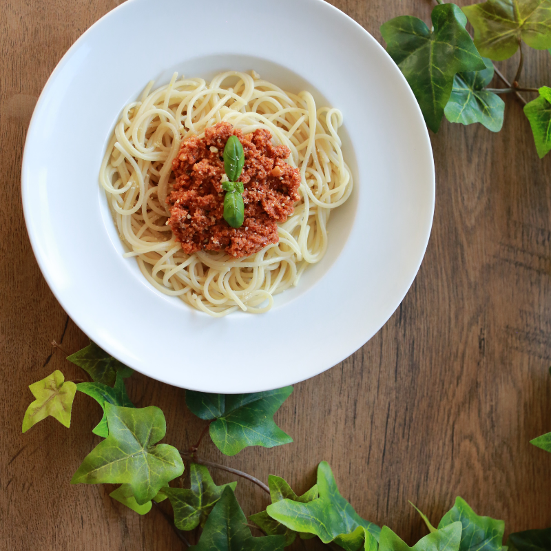 Spaghetti Wegańskie